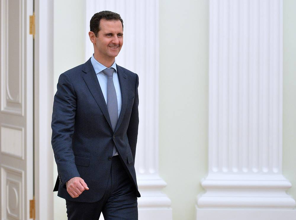 Syrian President Bashar Assad arrived in Moscow on October 21 on a working visit, the first trip abroad since the civil war hit the country in 2011