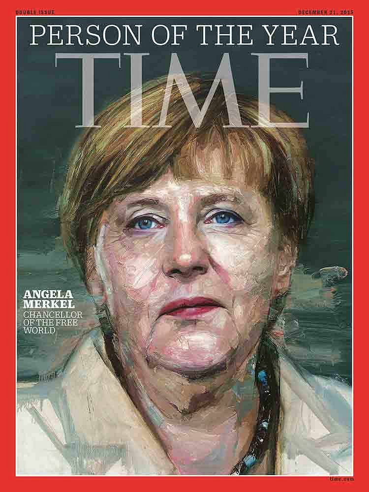 Angela Merkel was named Time magazin's Person of the Year 2015