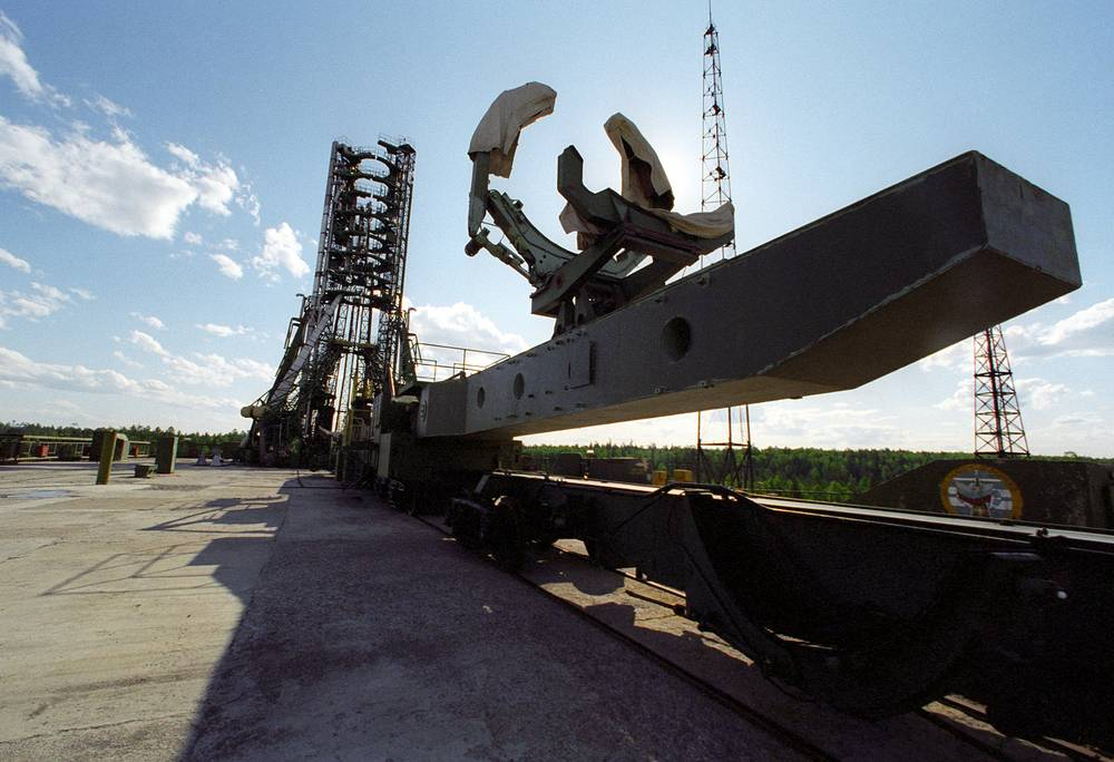 Plesetsk launch pad, 1996