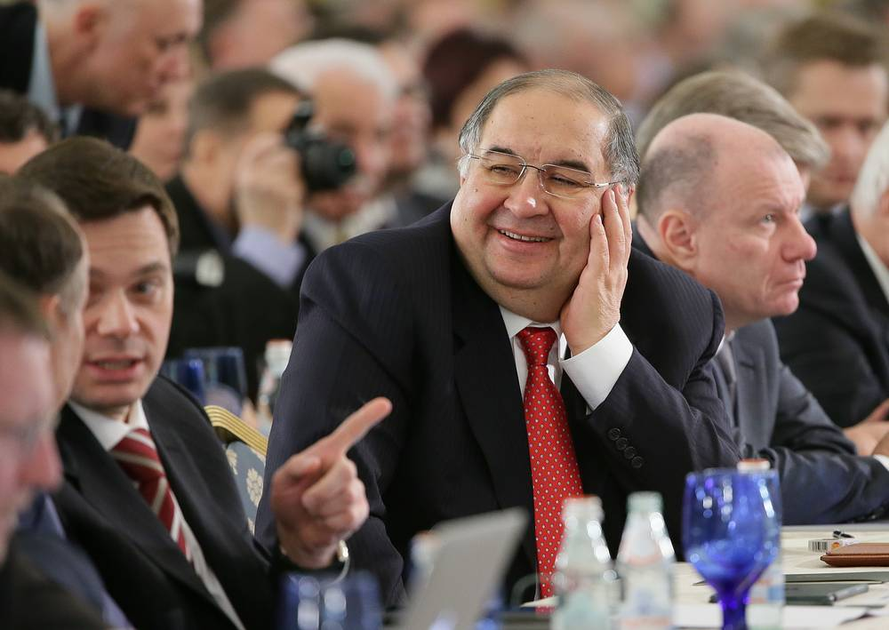 Alisher Usmanov, the majority owner of Russian telecom operator MegaFon, $12.5 bln