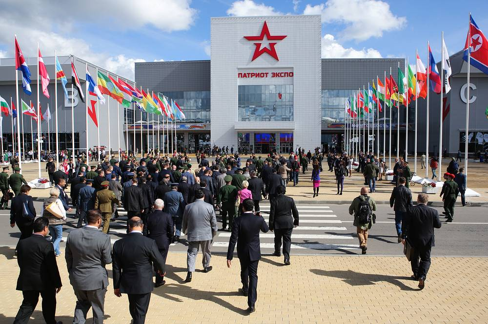 The opening of the Army-2016 international military-technical forum at the Patriot Expocentre in Moscow region