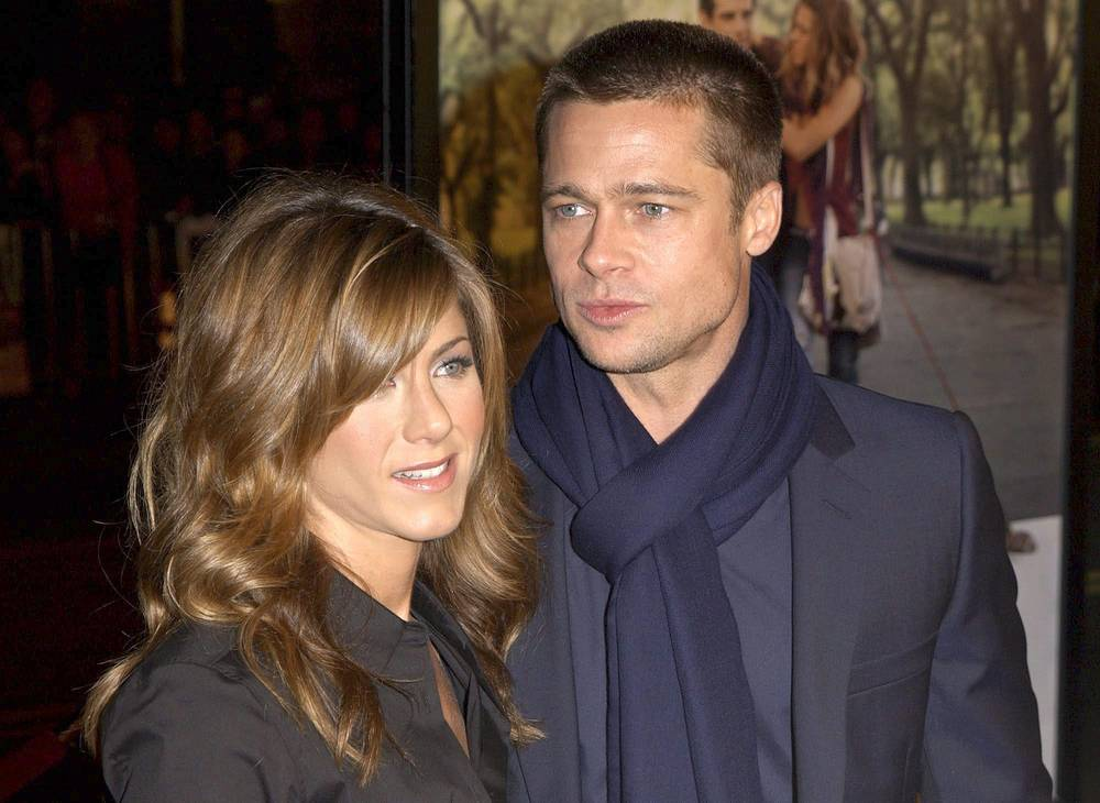 Jennifer Aniston and Brad Pitt married in 2000 and split in 2005