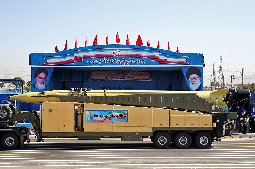 Iran's Emad long-range ballistic surface-to-surface missile