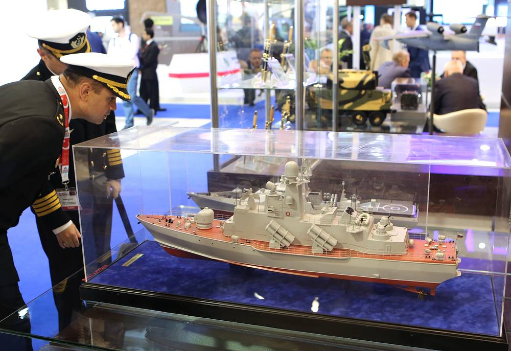 The Rosoboronexport stand at the ADEX 2016 Expo