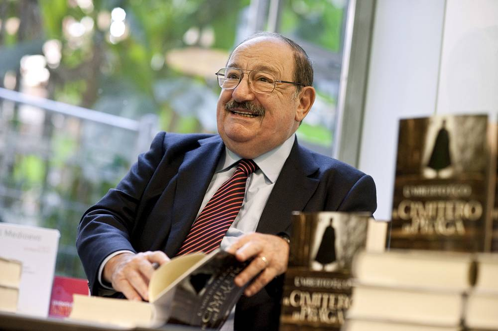 Italian writer Umberto Eco died on February 19. He was 84