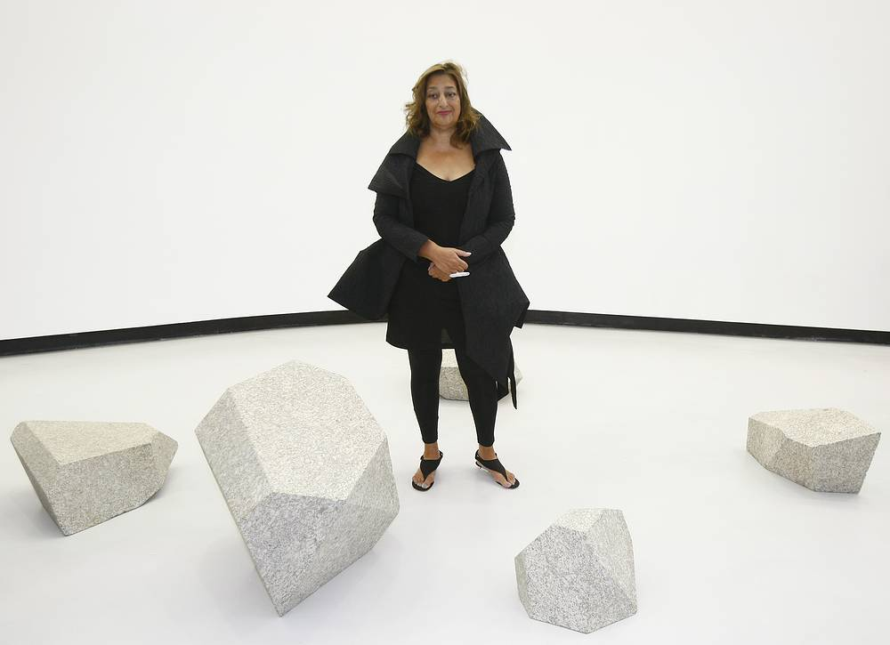 Iraqi-born architect Zaha Hadid died aged 65 from heart attack on March 31
