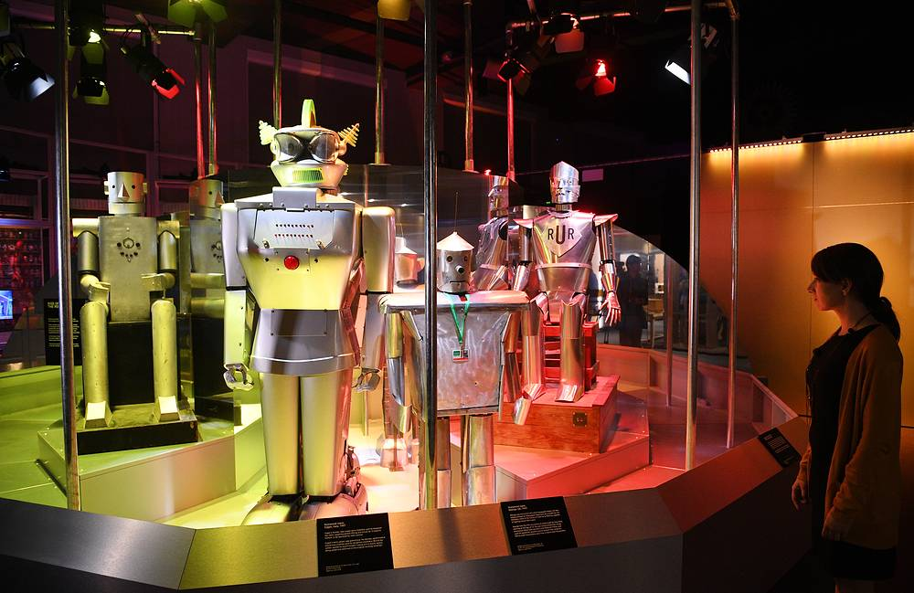 'Robots' exhibition at the Science Museum in London