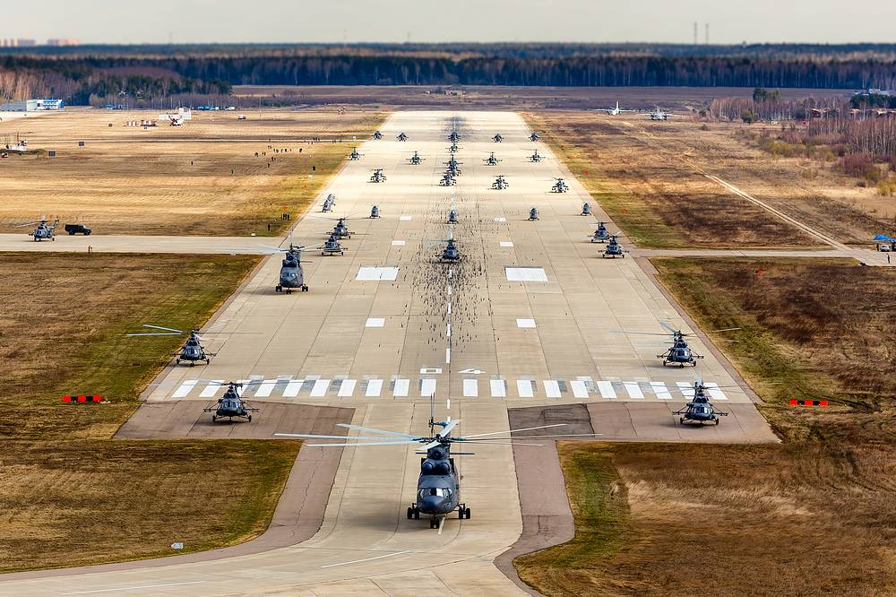 The Berkuti changed to six Mi-28N combat helicopters in 2012