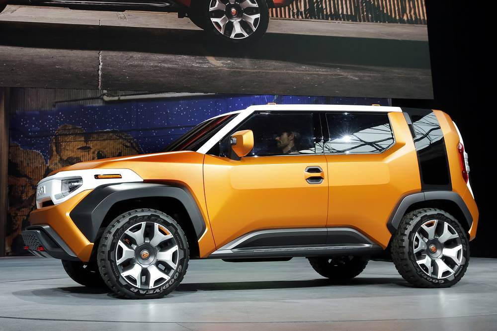 Toyota FT4X concept car