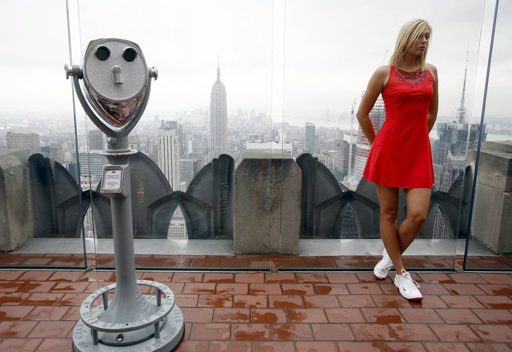 Maria Sharapova in New York, 2007