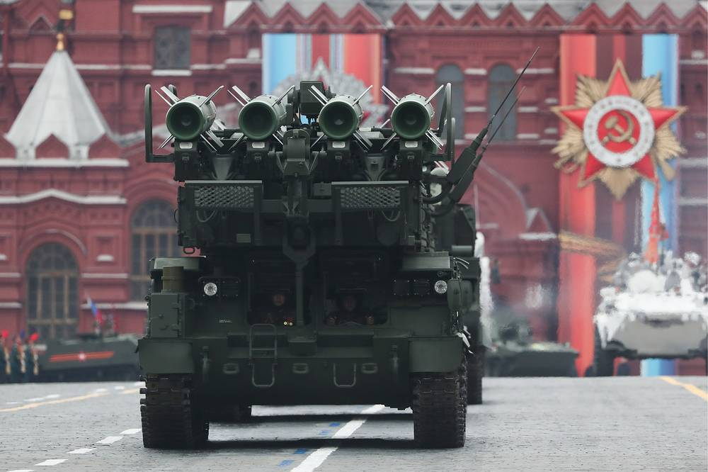 Buk-M2 anti-aircraft missile system