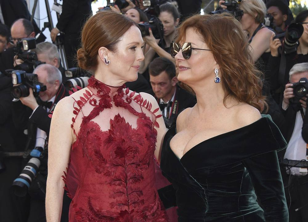 Actresses Julianne Moor and Susan Sarandon