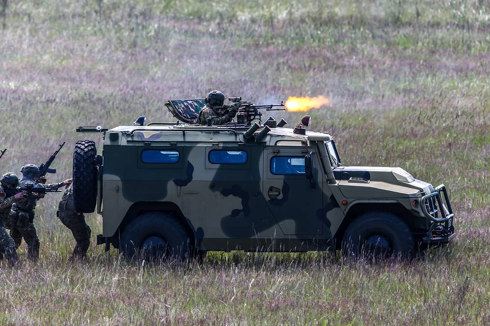 Tigr multipurpose infantry mobility vehicle