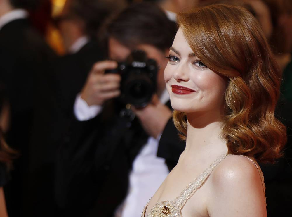 "Emma Stone, 28, who won Best Actress Oscar award for her role in ""La La Land,"" made $26 million, according to Forbes' calculations"