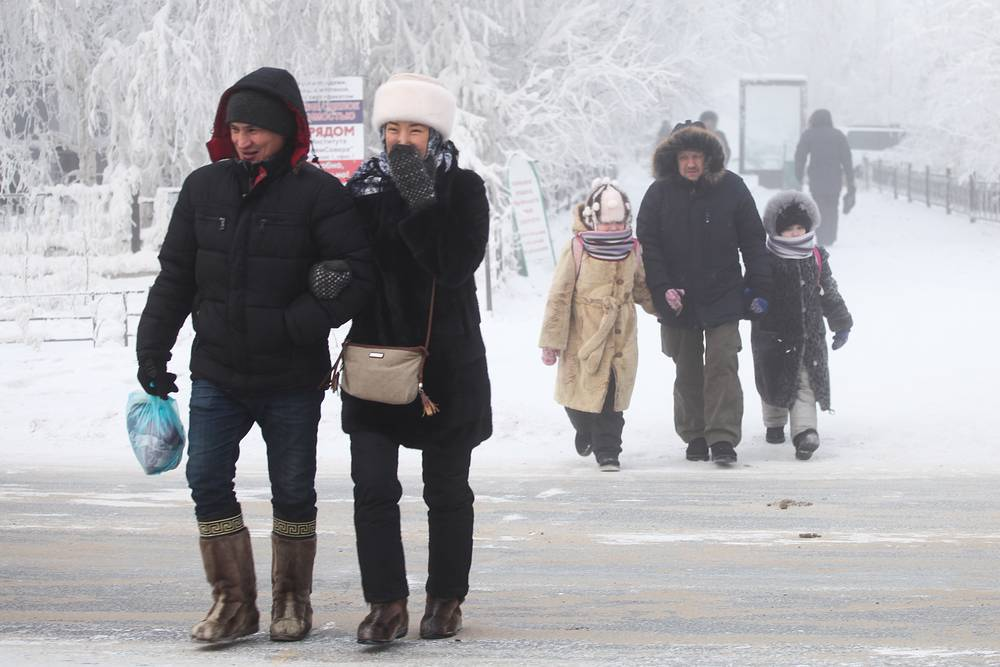 Temperatures of -67.7C (-89.9 degrees Fahrenheit) were recorded on Yakutia in February 1933