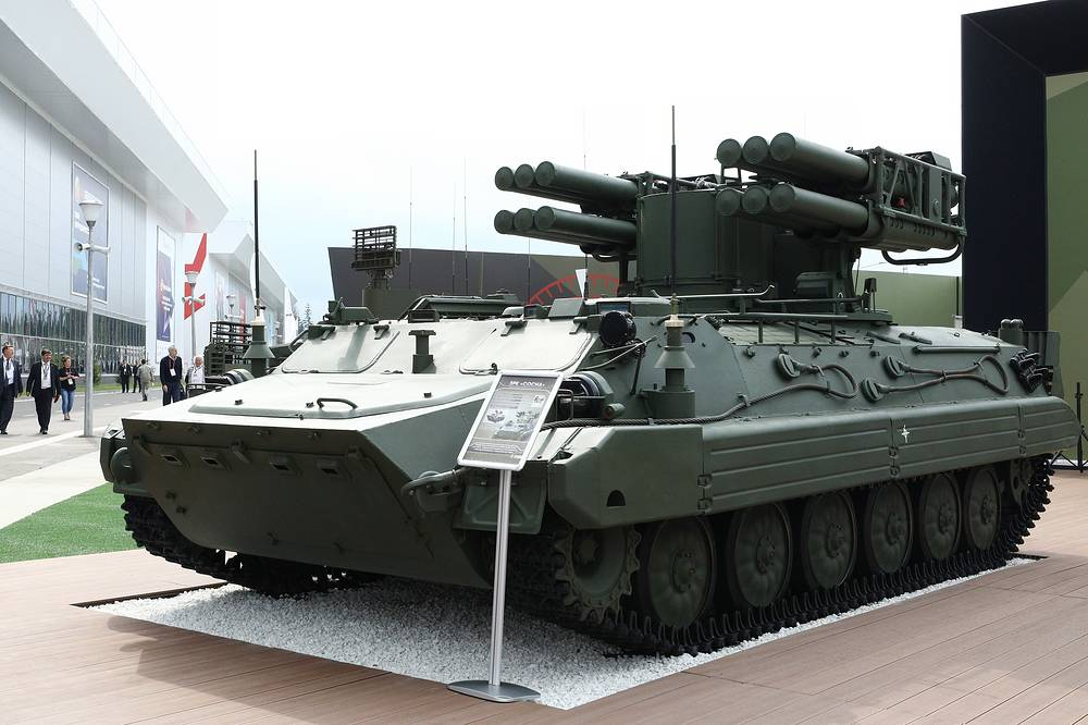 Sosna-R anti-aircraft missile system