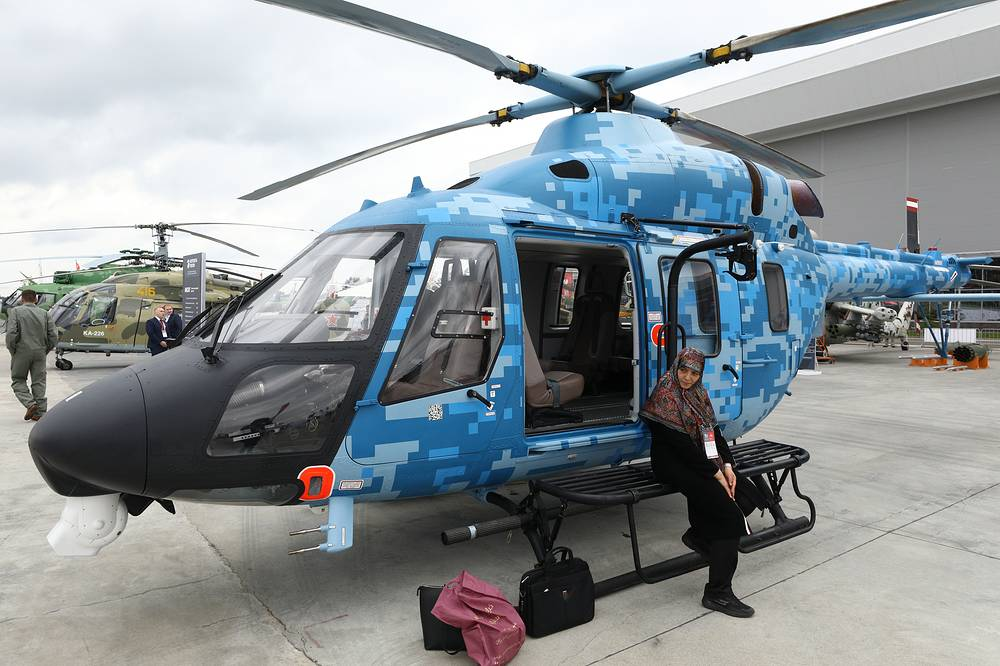 Ansat medical helicopter