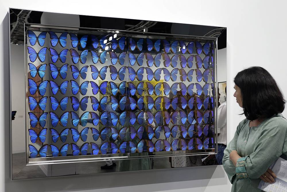 'The Ascended' by Damien Hirst