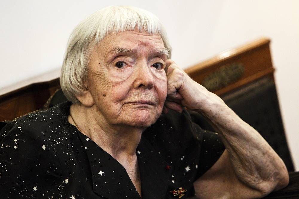 Russian human rights activist Lyudmila Alexeyeva died at the age of 91 on December 8