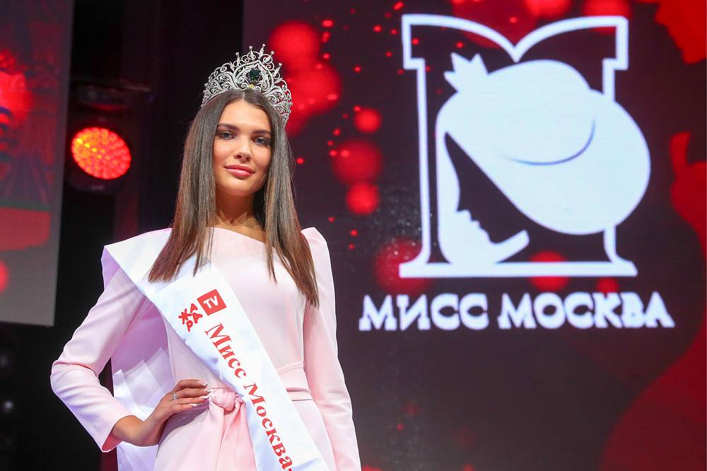 Alesia Semerenko, the winner of Miss Moscow 2018 beauty pageant