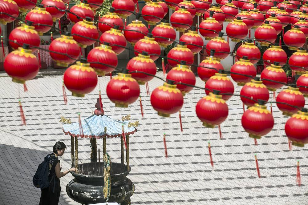 This year is the Year of the Earth Pig on the Chinese Lunar calendar and is supposed to represent abundance, diligence and generosity