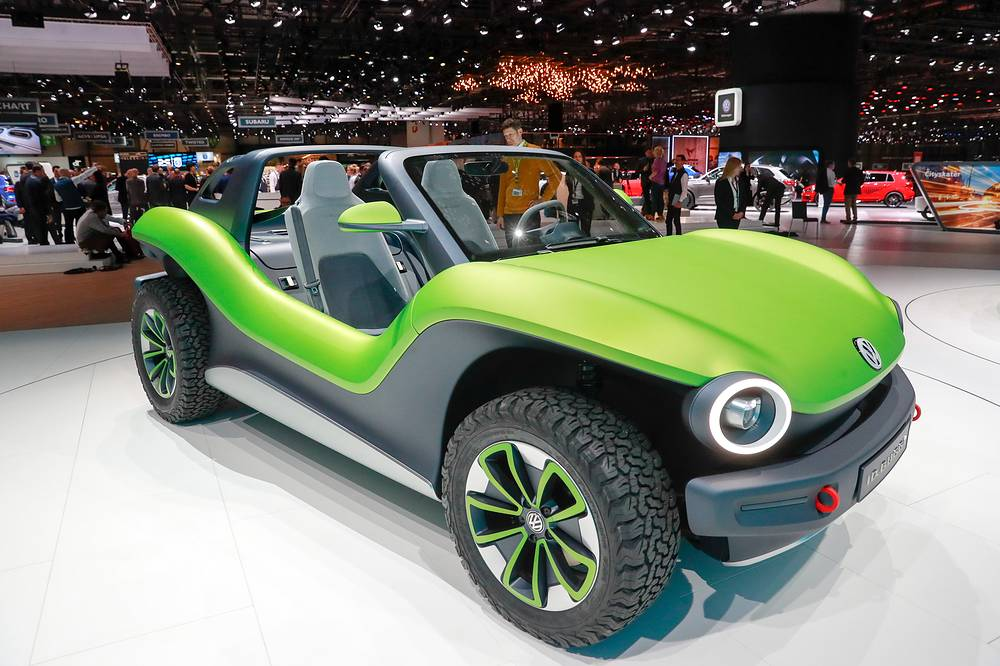 Volkswagen I.D Buggy electric car