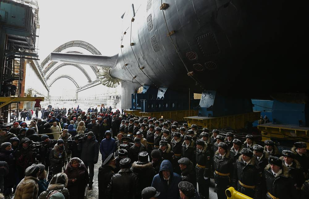 The Yasen-class multirole nuclear-powered submarine Kazan is the second submarine in the series and the first submarine built under the upgraded Project 885M