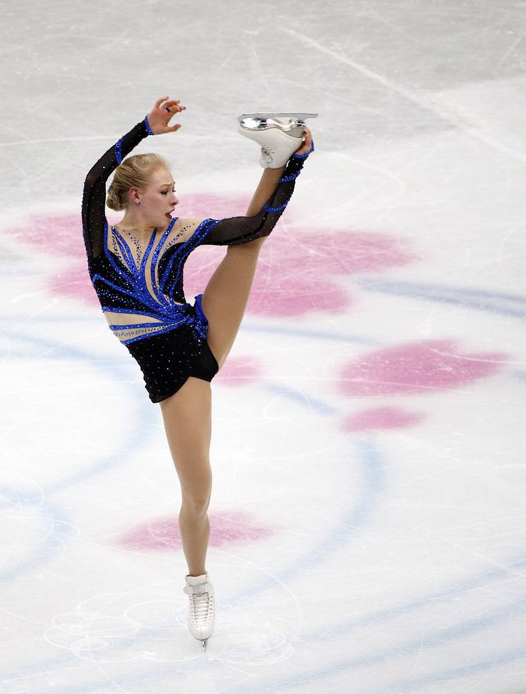 Bradie Tennell of the United States