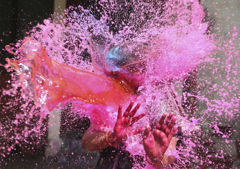 Holi is primarily observed in India, Nepal and other regions of the world with significant population of Indian-origin people