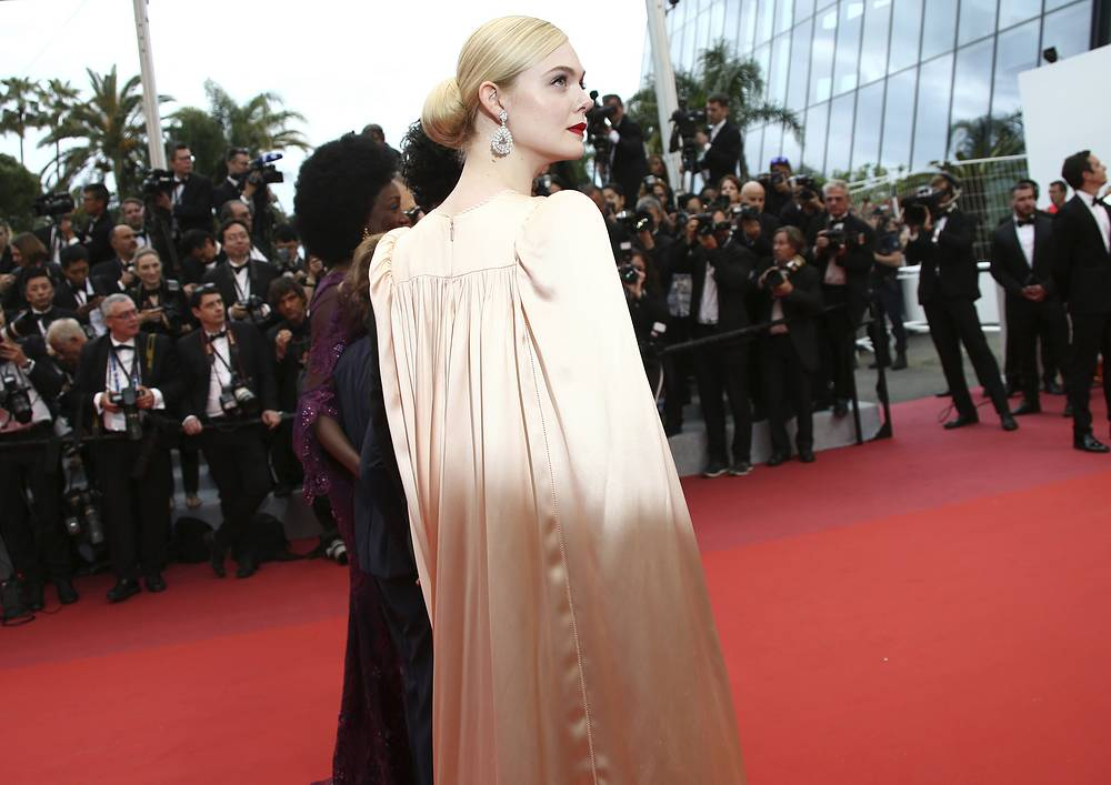 Jury member and actress Elle Fanning