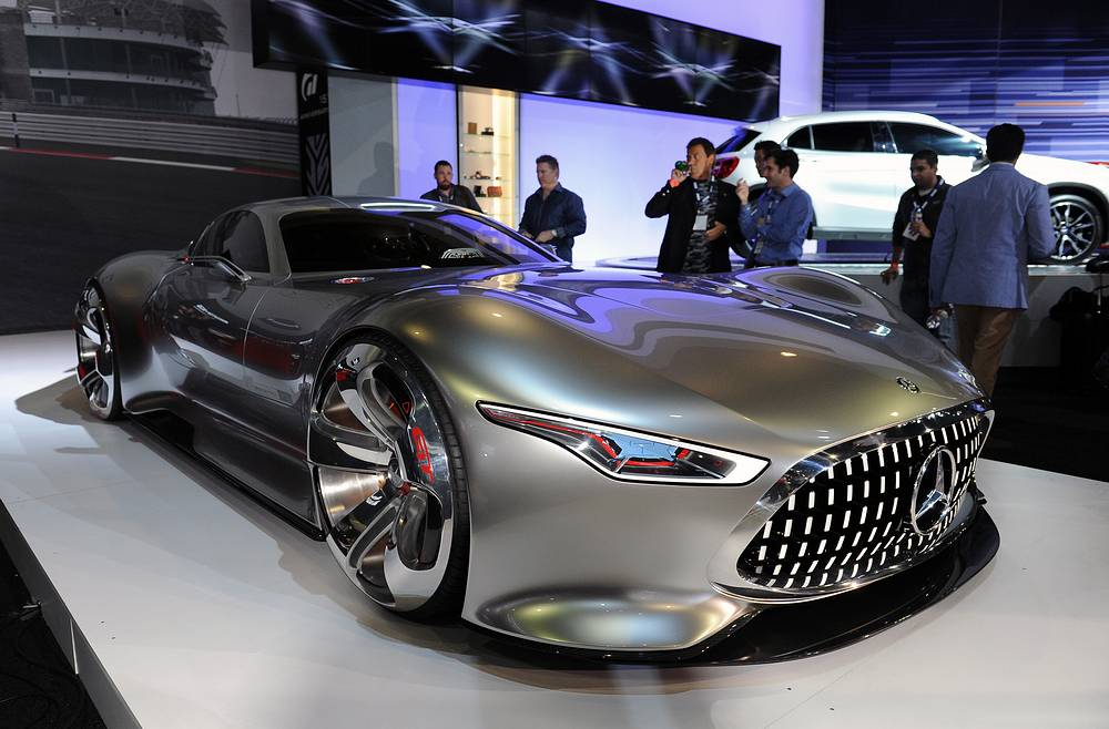 Mercedes concept vehicle MG AMG Vision Grand Tourism