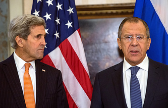 John Kerry and Sergey Lavrov (archive)