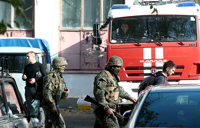 Crimea college gunman was interested in making explosives, says anti-terror agency