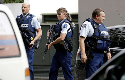 At least 27 dead in shooting at two New Zealand mosques