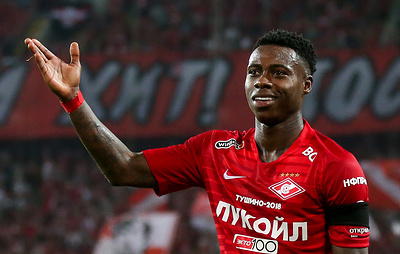 Dutch forward Quincy Promes clears medical examination to join Spartak Moscow FC