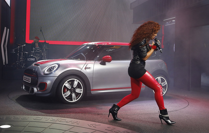 Singer Natalie La Rose at Mini John Cooper Works presentation