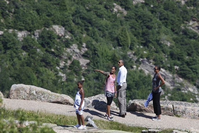 The Obama family's vacations are always under close media scrutiny