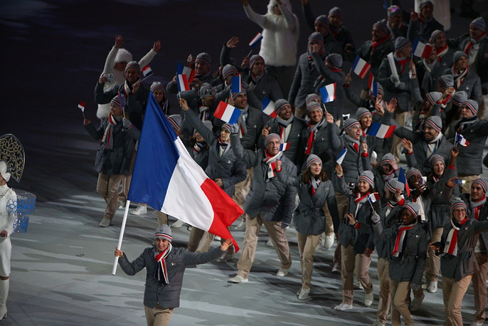 French olympic team