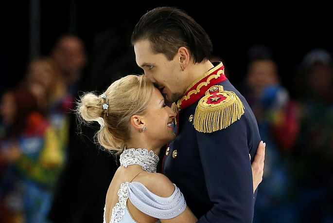 Tatiana Volosozhar and Maxim Trankov are not only a figure skating pair