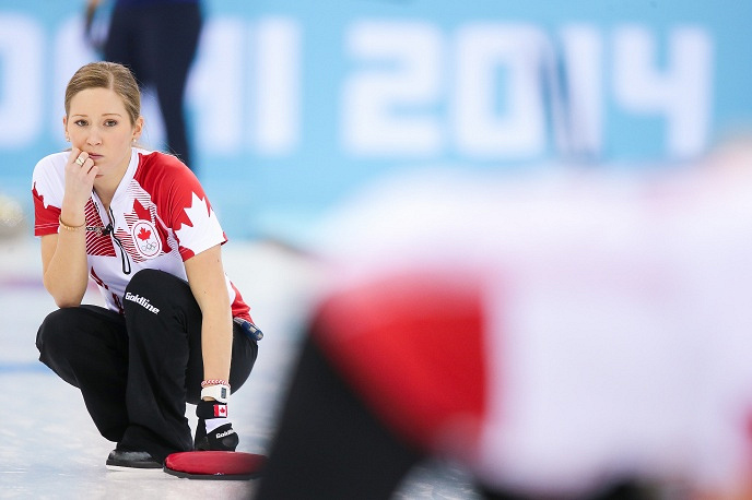 Canadian curler Kaitlyn Lawes (25)