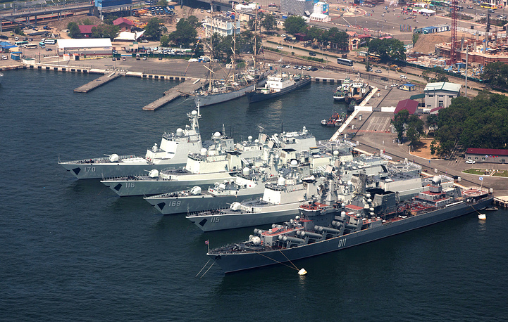 """Naval Interaction 2013"" exercises in July"