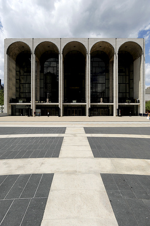 Perhaps not one of the oldest, but vertainly one of the most widely known theaters in the world is the Metropolitan Opera in New York