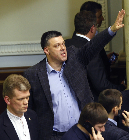 Leader of the Svoboda Party Oleh Tyahnibok