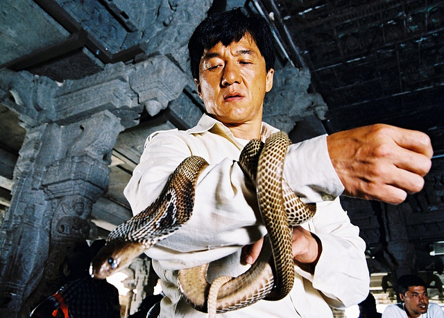 Jackie Chan in 'The Myth', 2005