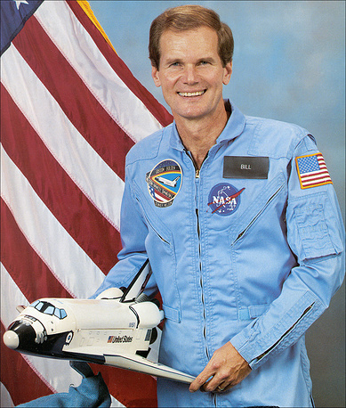 United States Congress member Bill Nelson made a flight on the Space Shuttle Columbia in the beginning of 1986