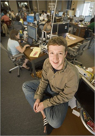 Speaking of the famous social network he created, Zuckerberg once said, that Facebook wasn't created as a commercial company, but to make the world more open and connected
