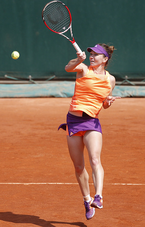 Simona Halep was stronger than Maria-Teresa Torro-Flor of Spain in the third round: 6-3, 6-0