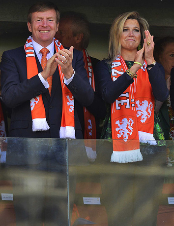 Dutch King Willem-Alexander and Queen Maxima