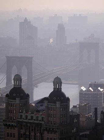 New York's Brooklyn bridge is a world-known landmark and one of the oldest suspension bridges in the US