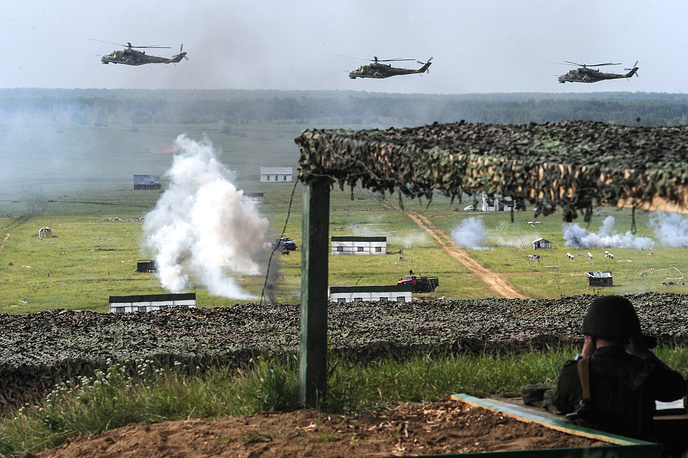 Surprise drills in the Central Military District